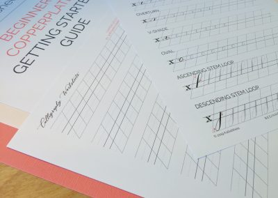 Beginner Copperplate Calligraphy Getting Started Guide