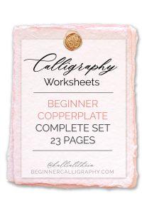 Beginner Copperplate Complete Set