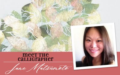 Meet the Calligrapher: Jane Matsumoto