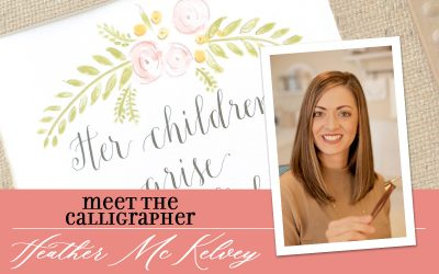 Meet the Calligrapher: Heather McKelvey