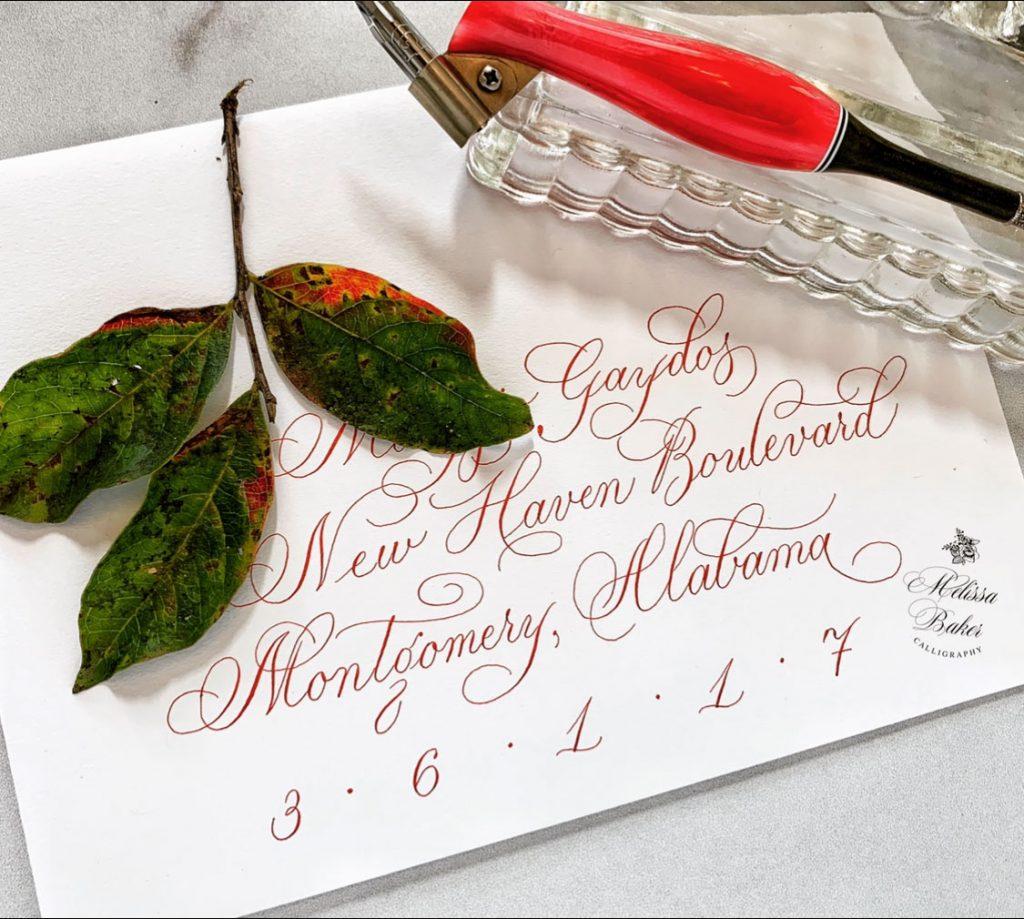 Melissa Baker Calligraphy 4